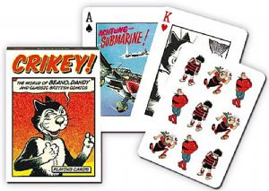 Beano And Dandy Crikey set of 52 playing cards + jokers   (gib)